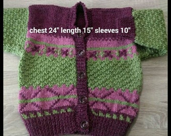 Hand knit with pure New Zealand wool. Eight to choose from