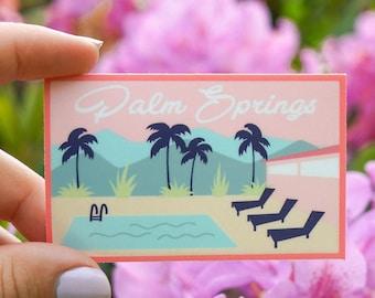 Palm Springs Travel Sticker
