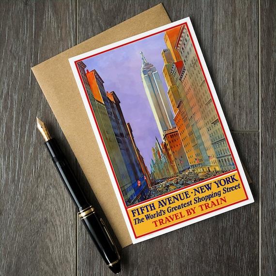 Fifth Avenue New York Birthday Cards