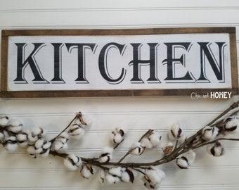 Kitchen Signs - Kitchen Wall Decor - Farmhouse Style - Rustic Signs - Wood Signs - Wooden Signs - Farmhouse Signs