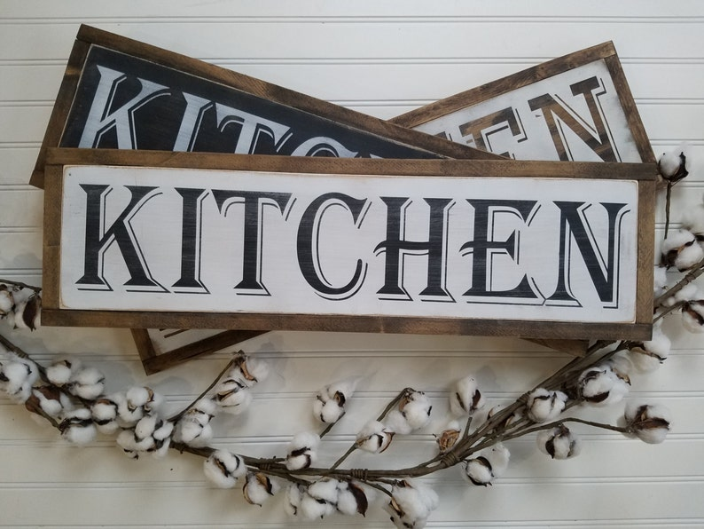 kitchen signs signs for kitchen decor kitchen wall art for etsy rh etsy com primitive wooden signs for kitchen