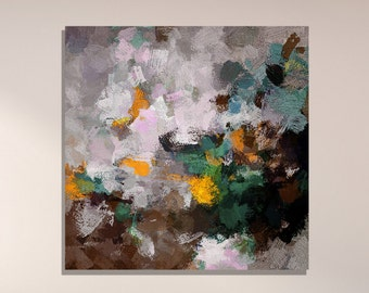 Abstract Print, Dark Abstract Wall Art, Abstract Print as Wall Decor, Contemporary Abstract Art, Modern and Minimalist Large Abstract Prints