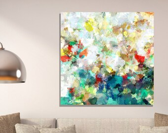 Colorful Abstract Print, Large Abstract Print, Abstract Print for Wall Decor, Contemporary Abstract Art, Abstract Painting / Print