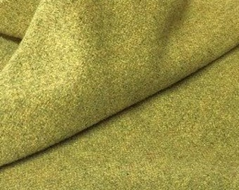Wild Wasabi, Felted Wool Fabric for Rug Hooking, Wool Applique and Crafts