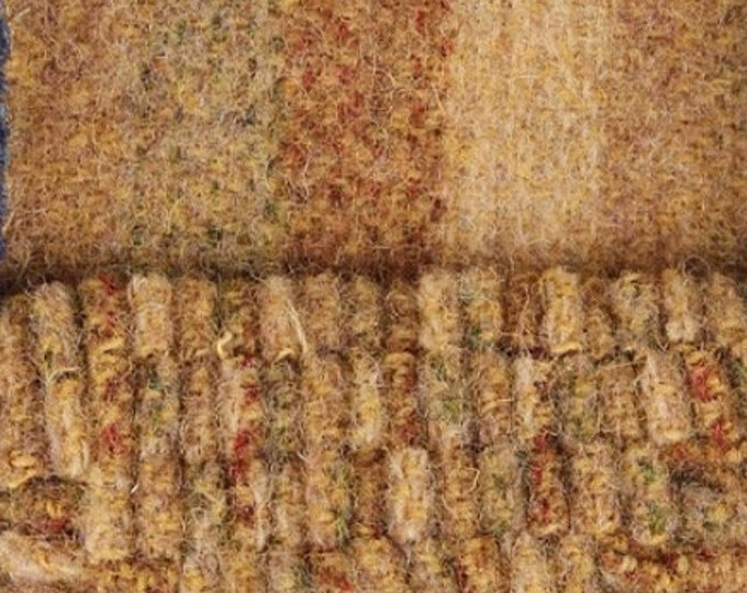 Nada's Favorite Stripe, Felted Wool Fabric for Rug Hooking, Wool Applique and Crafts