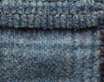Something Blue, Felted Wool Fabric for Rug Hooking, Wool Applique and Crafts