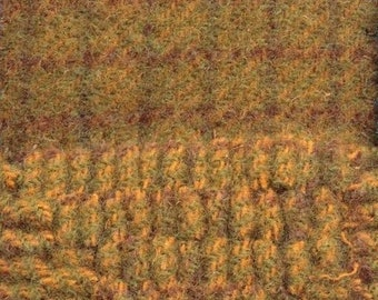 Gold Rush, Felted Wool Fabric for Rug Hooking, Wool Applique and Crafts