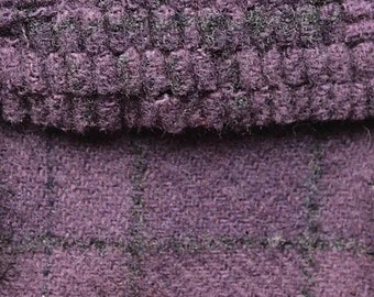 Grape Ape, Felted Wool Fabric for Rug Hooking, Wool Applique and Crafts