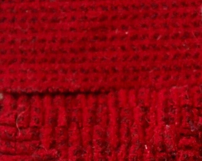 Rocket Red, Felted Wool Fabric for Rug Hooking, Wool Appliqué and Crafts