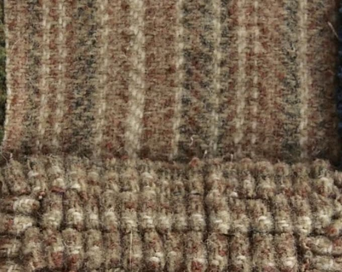 Desert Stripe, Felted Wool Fabric for Rug Hooking, Wool Appliqué and Crafts