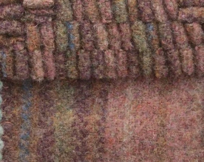 Saddle Blanket, Felted Wool Fabric for Rug Hooking, Wool Appliqué and Crafts