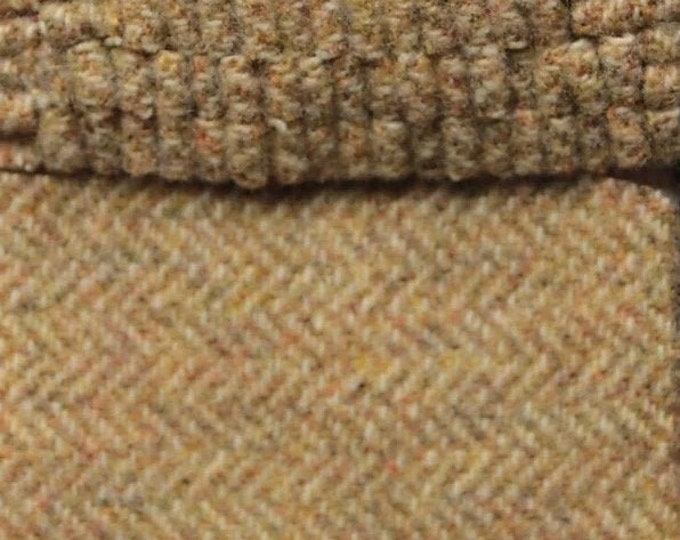 Fields of Gold, Felted Wool Fabric for Rug Hooking, Wool Applique and Crafts