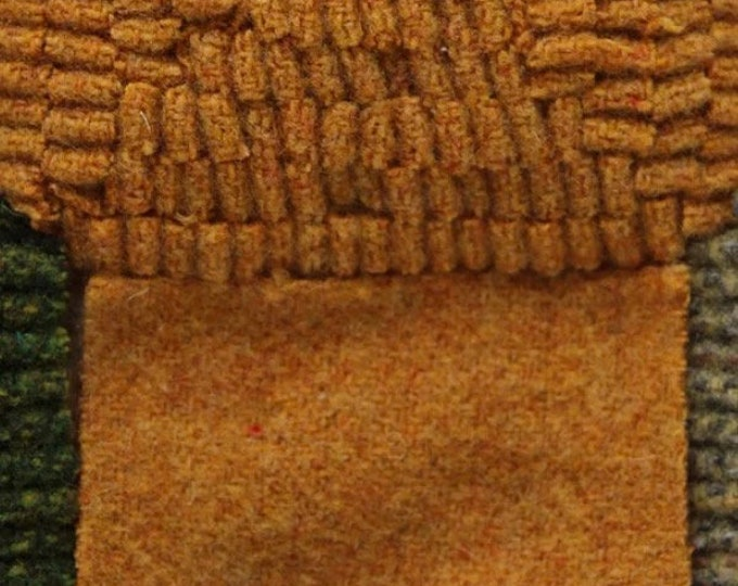 Butter Beer, Felted Wool Fabric for Rug Hooking, Wool Appliqué and Crafts