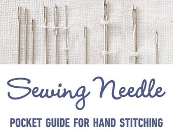 Sewing Needle Pocket Guide for Hand Stitching