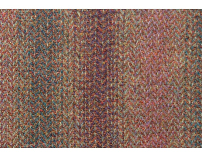 Shades of Mauve, Grey & Rust Ombre Felted Wool for Rug Hooking, Wool Appliqué and Crafts