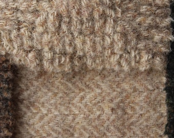 Winter Wheat, Felted Wool Fabric for Rug Hooking, Wool Applique and Crafts