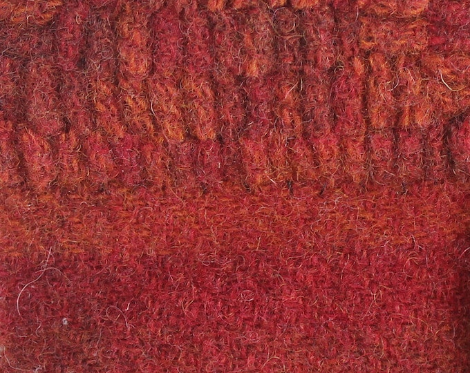 Mexican Chili, Felted Wool Fabric for Rug Hooking, Wool Applique and Crafts