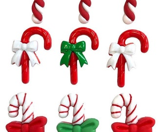Candy Cane Lane by Buttons Galore, Christmas Collection