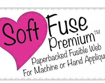 Soft Fuse Premium for Machine or Hand Appliqué, Wool or Cotton Appliqué