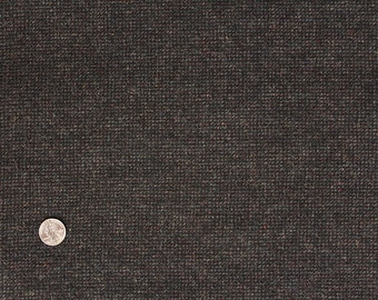 Slate Black Tweed, 100% Felted Wool Fabric for Rug Hooking, Wool Applique and Crafts