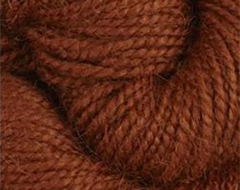 Rauma Ryegarn, Norwegian Wool Rug Yarn, #581 Rusty