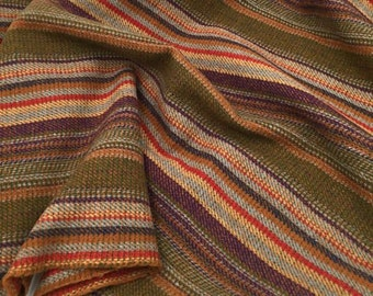 Shaker Feathers Stripe, Felted Wool Fabric for Rug Hooking, Wool Applique and Crafts