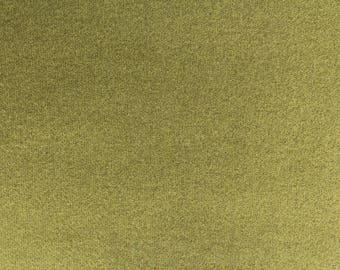 Green Sleeves, Felted Wool Fabric for Rug Hooking, Wool Applique and Crafts