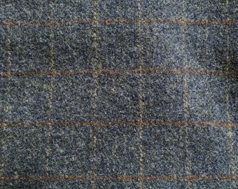 Blue Jean Baby, Felted Wool Fabric for Rug Hooking, Wool Applique and Crafts