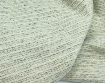Sea Salt Stripe, Felted Wool Fabric for Rug Hooking, Wool Applique and Crafts