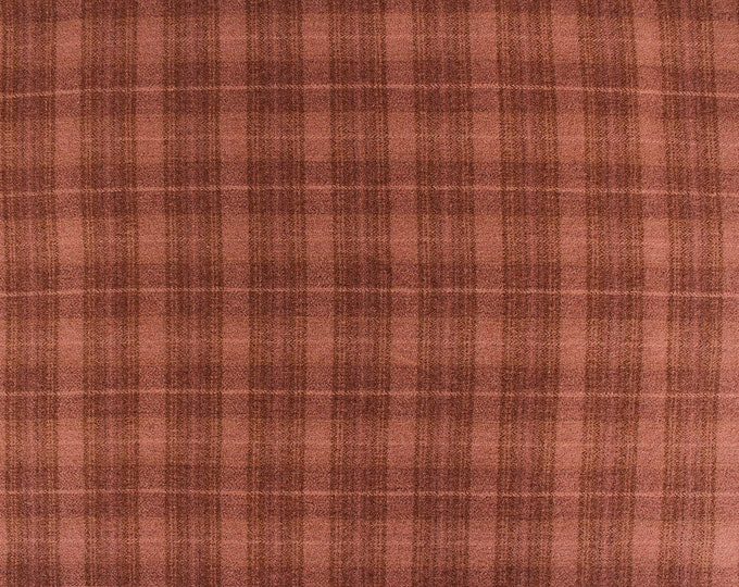 Teaberry, Felted Wool Fabric for Rug Hooking, Wool Applique and Crafts