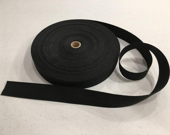 Black Rug Binding Tape, 5 Yard Increments