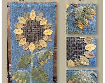Follow the Sun Kit, Wool Applique Banner