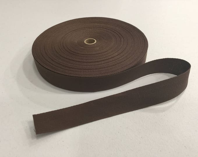 Dark Brown Rug Binding Tape, 5 Yard Increments