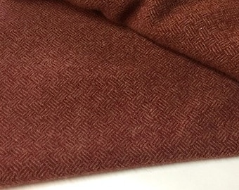 Red Mills, Felted Wool Fabric for Rug Hooking, Wool Applique and Crafts