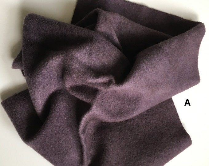 Dusty Purple, Hand Dyed Wool for Rug Hooking and Wool Applique
