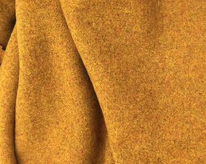 California Gold, 100% Felted Wool Fabric for Rug Hooking, Wool Applique & Crafts
