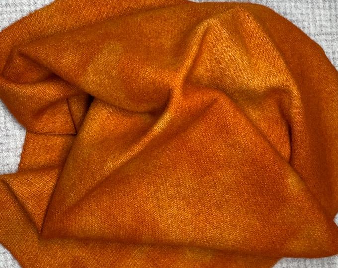 Spiced Pumpkin, Hand Dyed Fat Quarter