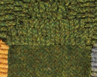 Bean Sprout, Felted Wool Fabric for rug Hooking, Wool Appliqué and Crafts