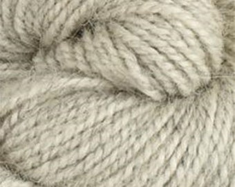 Rauma Ryegarn, Norwegian Wool Rug Yarn, #503 Light Gray Heather