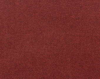 Cherry Honeycomb. Felted Wool Fabric for rug Hooking, Wool Applique and Crafts