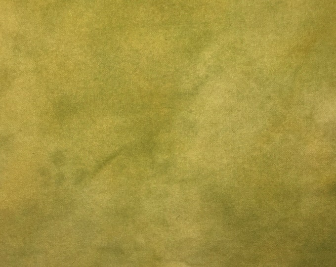 Golden Pear, Fat Eighth Hand Dyed Wool, Felted Wool Fabric for Rug Hooking, Wool Applique and Crafts