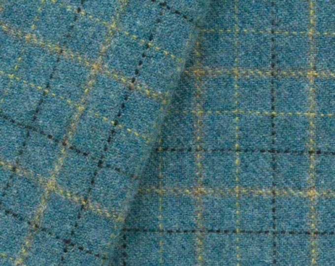 Blue Heather, Felted Wool Fabric for Rug Hooking, Wool Appliqué and Crafts