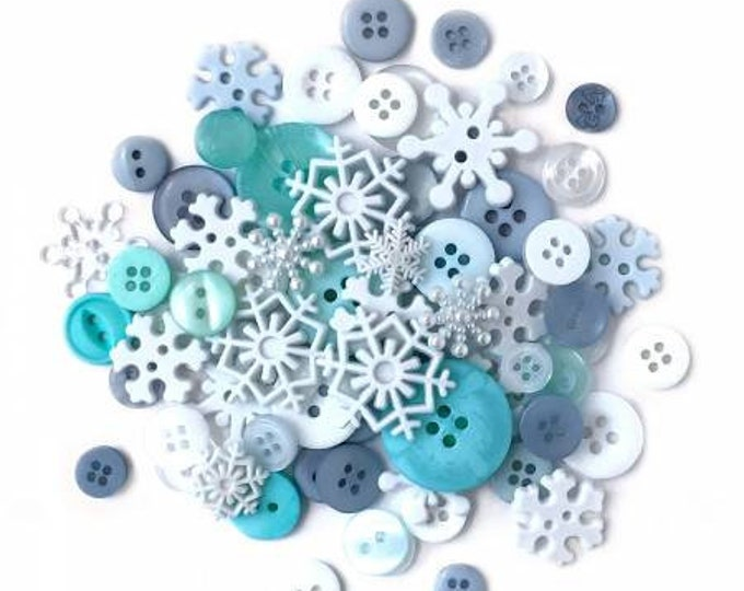 Snowflakes Value Pack by Buttons Galore