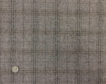 Dapple Grey, Felted Wool Fabric for Rug Hooking, Wool Applique and Crafts