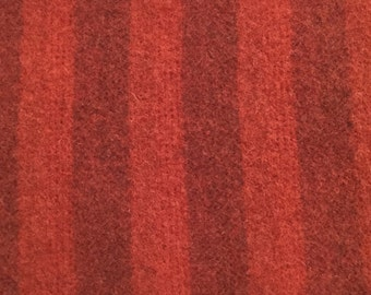 Olde Glory Red Stripe, Felted Wool Fabric for Rug Hooking, Wool Applique and Crafts