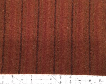 Seneca Stripe, Felted Wool Fabric for Rug Hooking, Wool Applique and Crafts