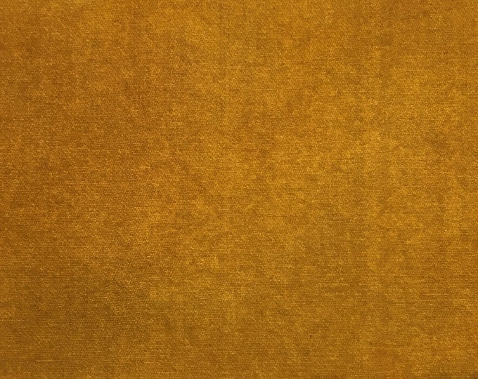 Harvest Chestnut, Hand Dyed Fat Quarter, Felted Wool Fabric for Rug Hooking, Wool Applique and Crafts