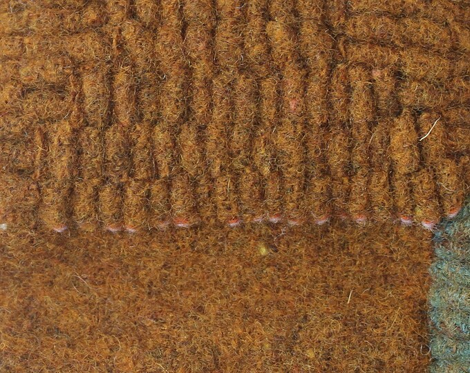 Old Gold, Felted Wool Fabric for Rug Hooking, Wool Applique and Crafts