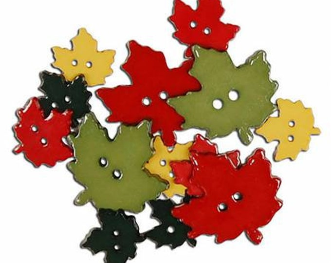 Favorite Findings Falling Leaves Assorted Sizes