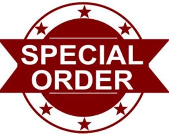 Special Order for Maggie - 1/2yd Very Dk Prpl #6 cut